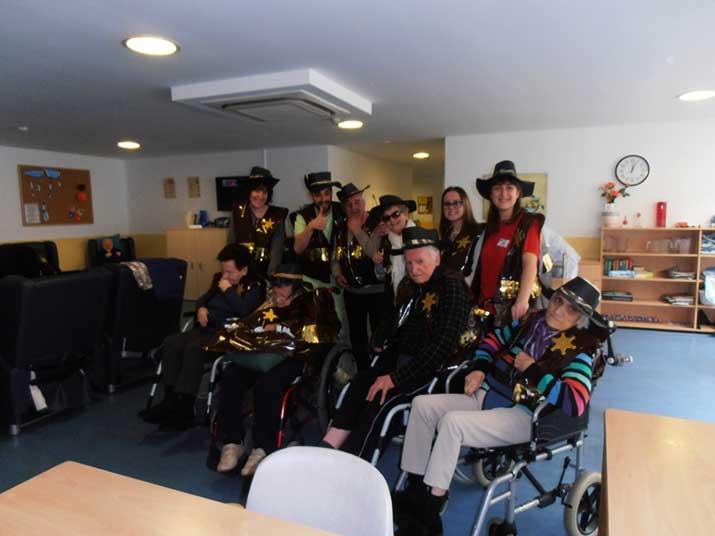 Carnaval en la Residencia de personas mayores Barandiaran de Durango