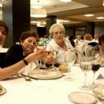 Comida de la Residencia de mayores de Durango en el Gran Hotel