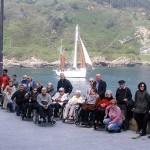 La Residencia de ancianos Santiago en el Festival de Pasaia