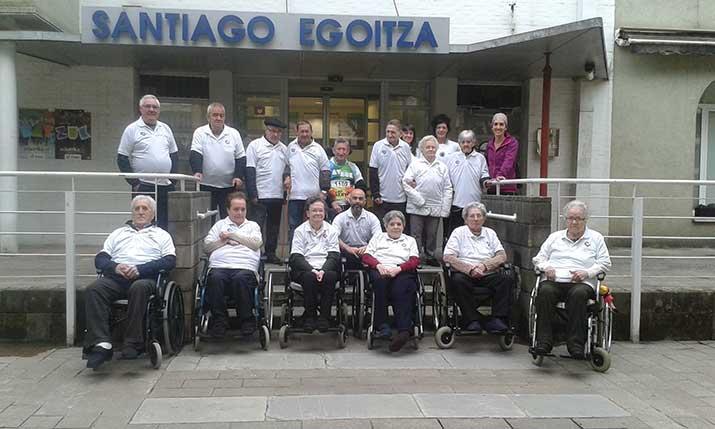 La Residencia de personas mayores Santiago, con la Korrika