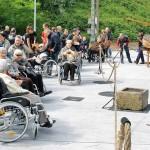 La Residencia de personas mayores Santiago en el Festival Marítimo