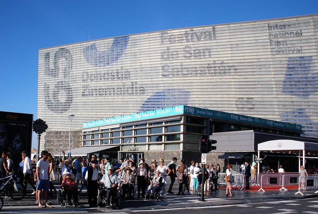 En el Festival de Cine de San Sebastián