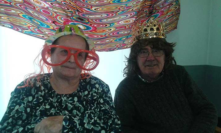 Asteartita. Martes de Carnaval en la Residencia de personas mayores Santiago de Vilabona, Gipuzkoa