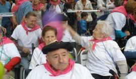 La Residencia de ancianos Santiago de Villabona, de fiesta