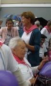 Santiago egoitzak Villabonako Santio Jaietan parte hartu du