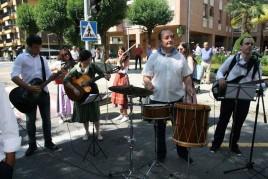 La Residencia Santiago de Villabona, de fiesta