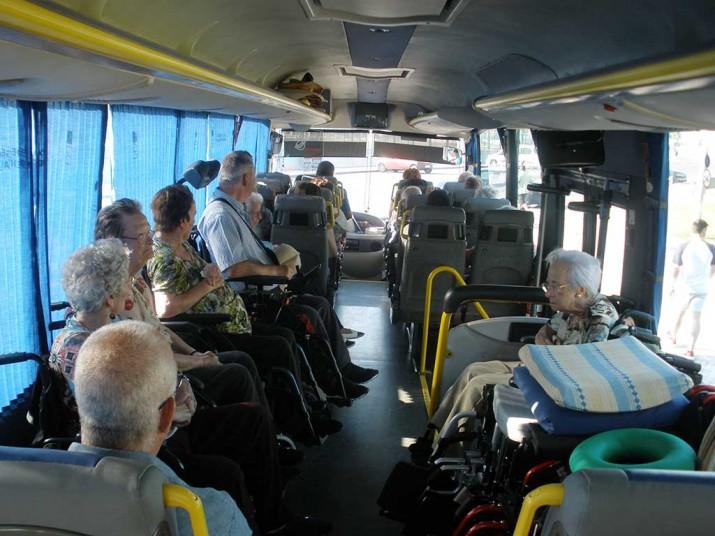Excursión a Hondarribia de la Residencia de personas mayores Santiago