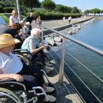 Excursión a Hondarribia de la Residencia de ancianos Santiago de Villabona