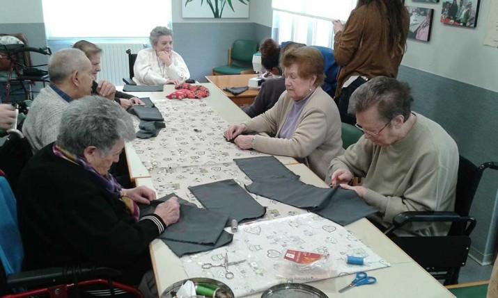 Intercambio intergeneracional en la Residencia de ancianos Santiago de Villabona
