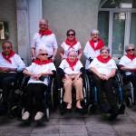 San Fermín Txiki en la Residencia de ancianos Santiago de Villabona