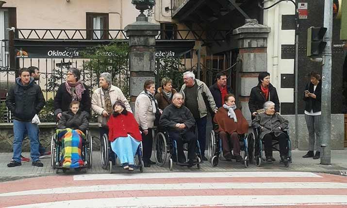 Carnaval en la Residencia de personas mayores Santiago de Villabona
