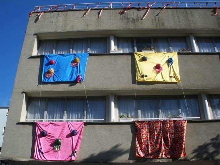 Carnaval en la Residencia de ancianos Santiago de Villabona