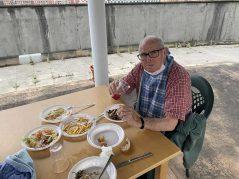 Menú de cervecera en la Residencia Txurdinagabarri