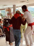 San Fermín 2021 en la Residencia de mayores Txurdinagabarri