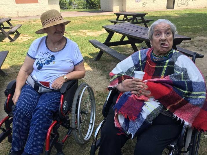 Excursiones de la Residencia de mayores Txurdinagabarri a Plentzia y Akarlanda