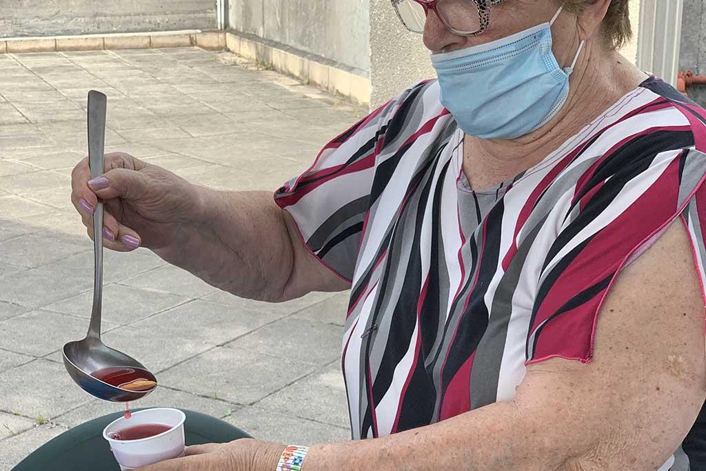 Residencia de mayores Txurdinagabarri de Bilbao - Taller de cocina - Agosto 2020