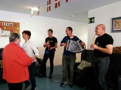 La Residencia Joxe Miel Barandiaran de Durango celebra los San Faustos