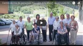 Video del Centro de Día de personas mayores de Arrasate