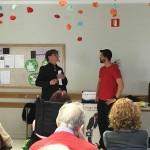 Monitor de la Residencia de ancianos Txurdinagabarri de Bilbao participa en un truco