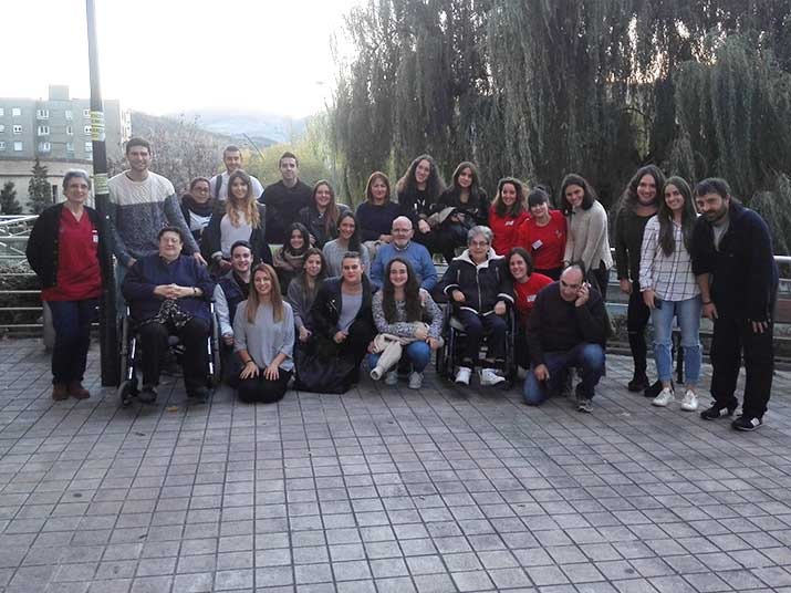 Visita de estudiantes de Botikazar a Txurdinagabarri
