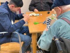 Programa intergeneracional 2020 en la Residencia de mayores Txurdinagabarri