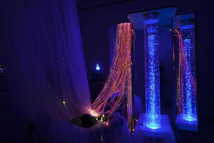Sala Snoezelen: estimulación sensorial para personas mayores con demencia