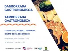 Tamborrada Gastronómica Centro de Día de Perdonas Mayores de Soraluze